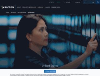 safran-na.com screenshot