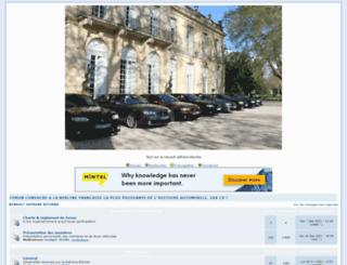 safrane-biturbo.forumsclub.com screenshot