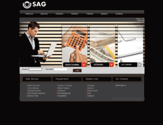 sag.cc screenshot