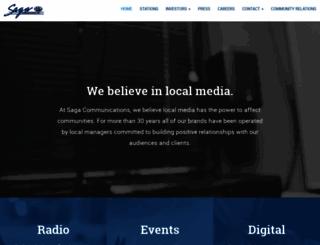 sagacom.com screenshot