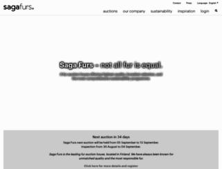 sagafurs.com screenshot