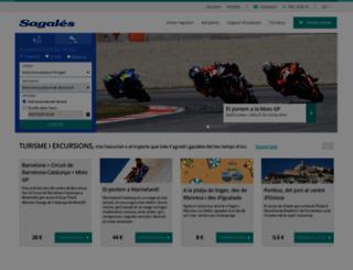 sagales.com screenshot