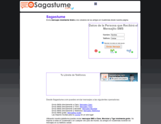 sagastume.com.gt screenshot