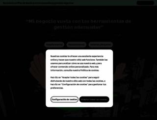 sage.es screenshot