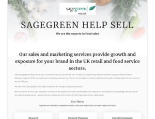 sagegreenfood.com screenshot