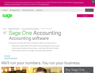 sageinvoicing.co.uk screenshot