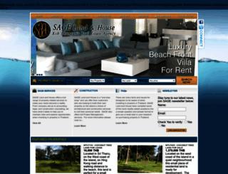 sagelandandhouse.com screenshot