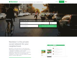 sagemont.nextdoor.com screenshot