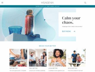 sagenatural.isagenix.com screenshot