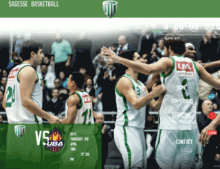 sagessebasketball.com screenshot
