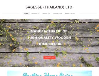 sagessethailand.com screenshot