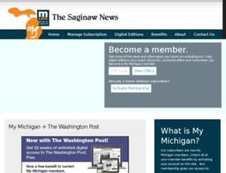 saginaw-news.com screenshot