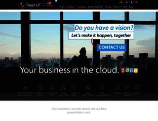 sagitaz.com screenshot