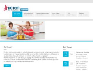 saglik.hatemhastanesi.com screenshot