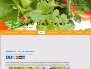 sagliklidogalyasam.net screenshot