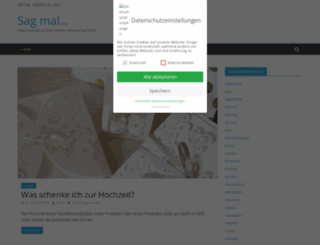 sagmal.de screenshot