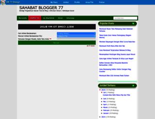 sahabatblogger77.blogspot.co.id screenshot