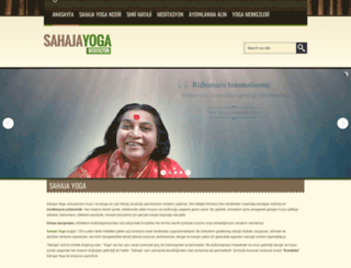 sahajayogaturkey.f2s.com screenshot