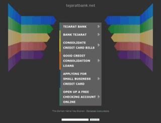 saham.tejaratbank.net screenshot