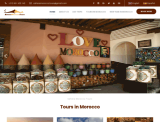saharamoroccotours.com screenshot
