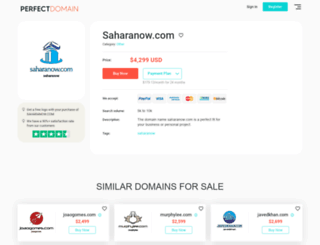 saharanow.com screenshot