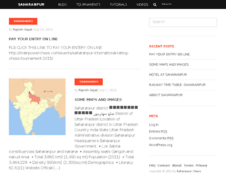 saharanpurchess.com screenshot