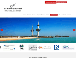 sahinternational.org screenshot