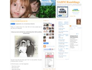 sahmramblings.com screenshot