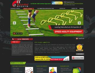 sahnisports.com screenshot