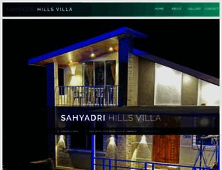 sahyadrihills.com screenshot