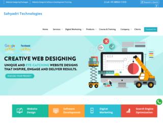 sahyadritechnologies.in screenshot