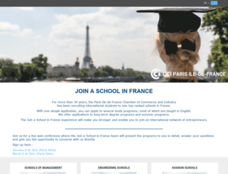 sai.cci-paris-idf.fr screenshot