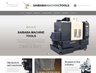 saibabamachines.com screenshot