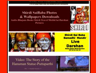 saibabaofindia.com screenshot