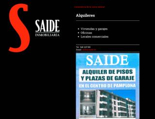 saide.es screenshot