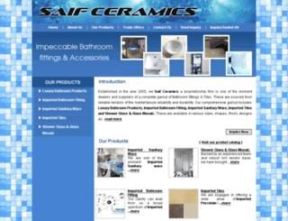 saifceramics.com screenshot