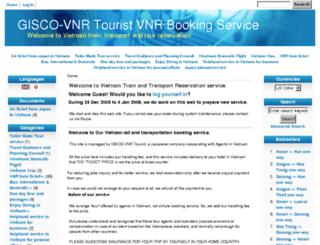 saigonhotel.com screenshot