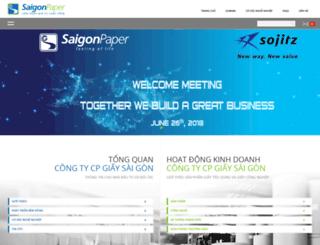 saigonpaper.com screenshot