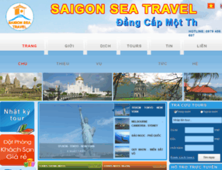 saigonseatravel.ioi.vn screenshot