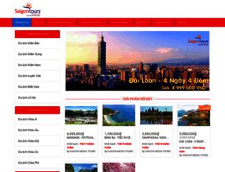saigontours.myharavan.com screenshot