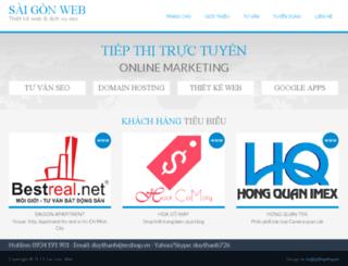 saigonweb.info screenshot