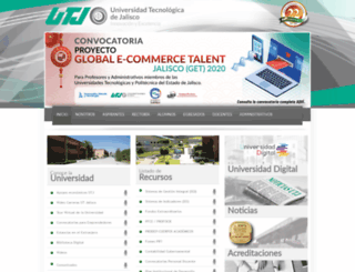 saiiut.utj.edu.mx screenshot