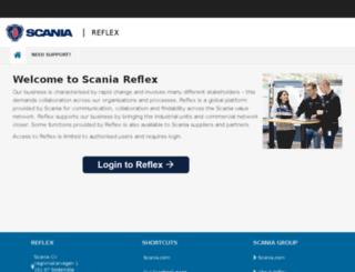 sail.scania.com screenshot