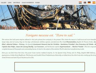 sailboatmodel.info screenshot