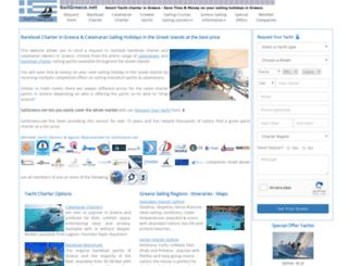sailgreece.net screenshot