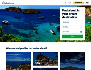 sailingeurope.com screenshot