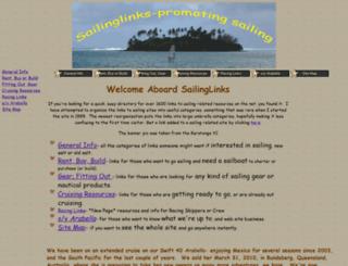 sailinglinks.com screenshot