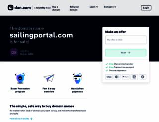 sailingportal.com screenshot