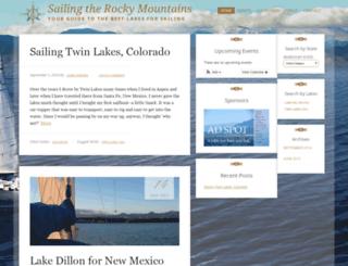 sailingtherockymountains.com screenshot