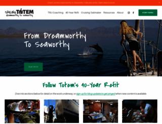 sailingtotem.com screenshot